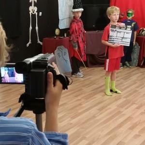 filming scene